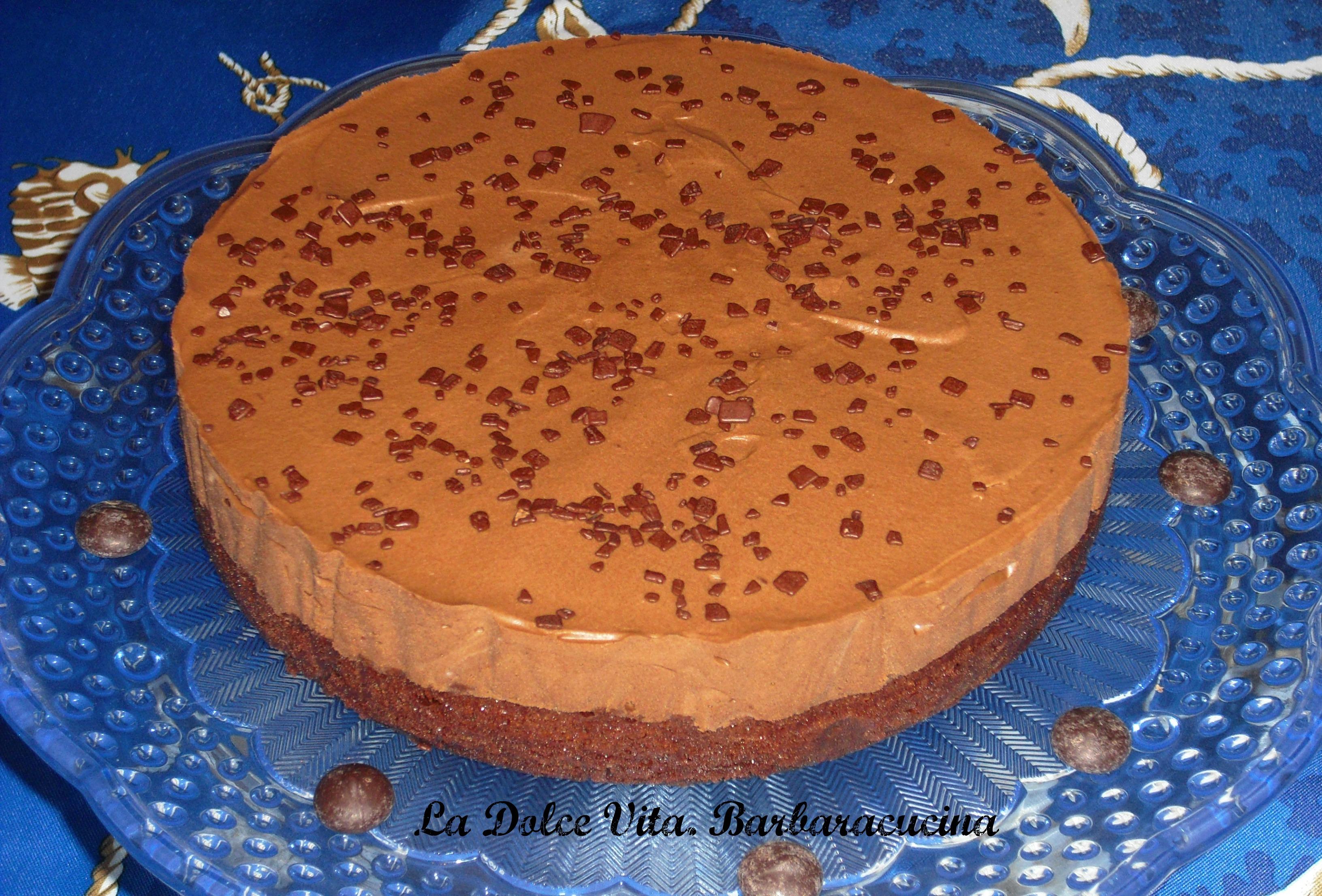 torta alla mousse di cioccolato 2