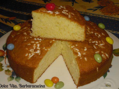 Torta con panna montata e arancia!