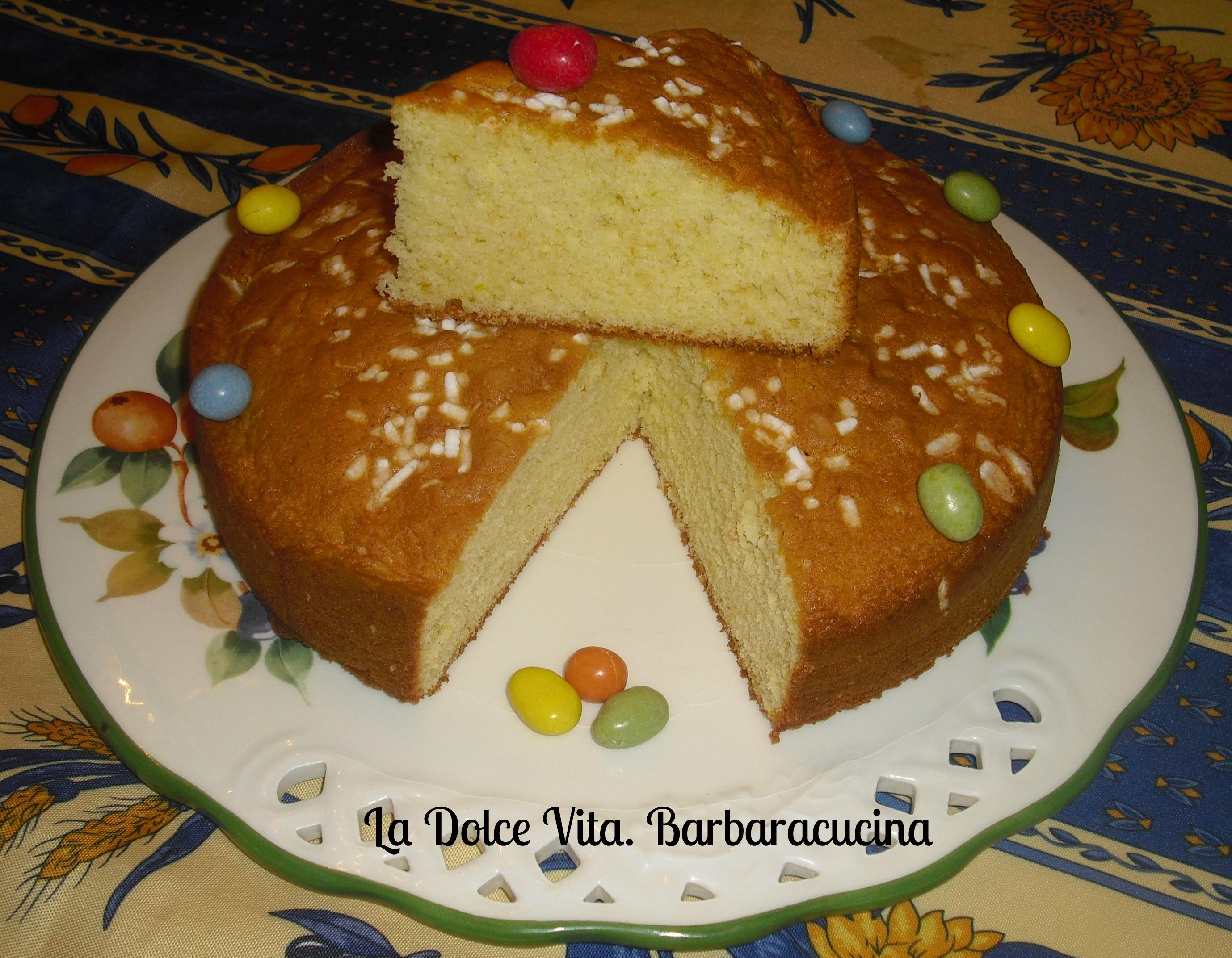Favoloso Torta con panna montata e arancia!   La Dolce Vita ZP01
