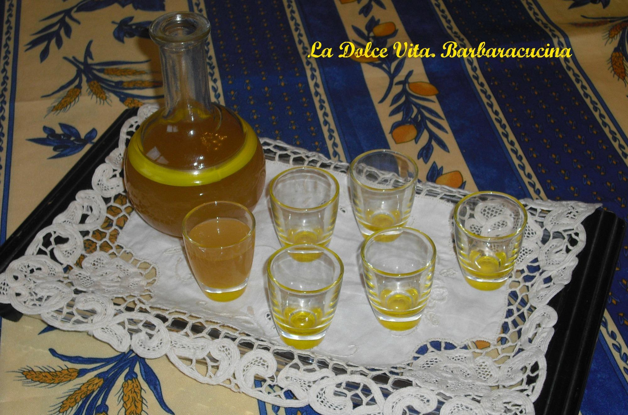 Liquore allo zenzero speziato!
