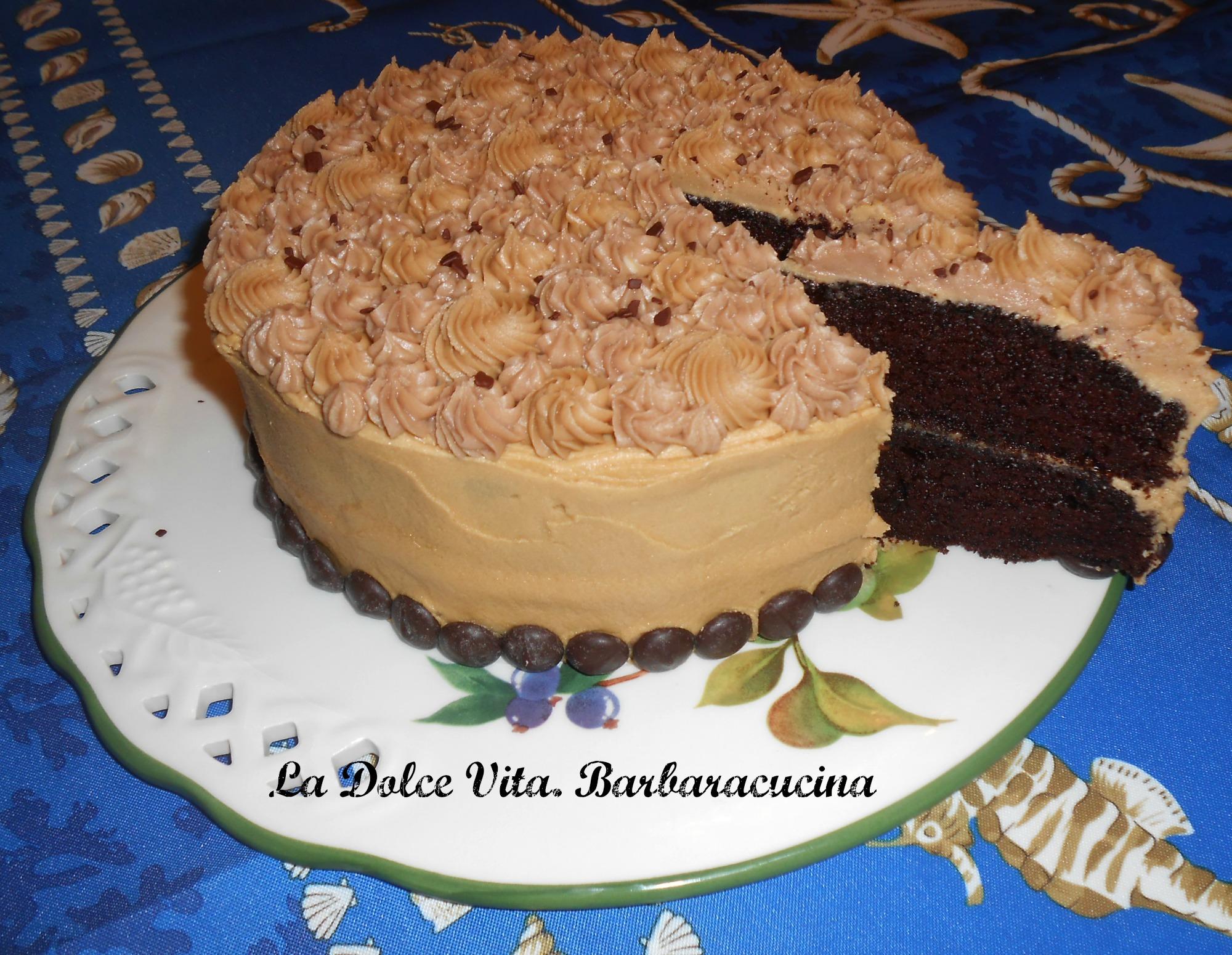 torta al cioccolato e caffè 2