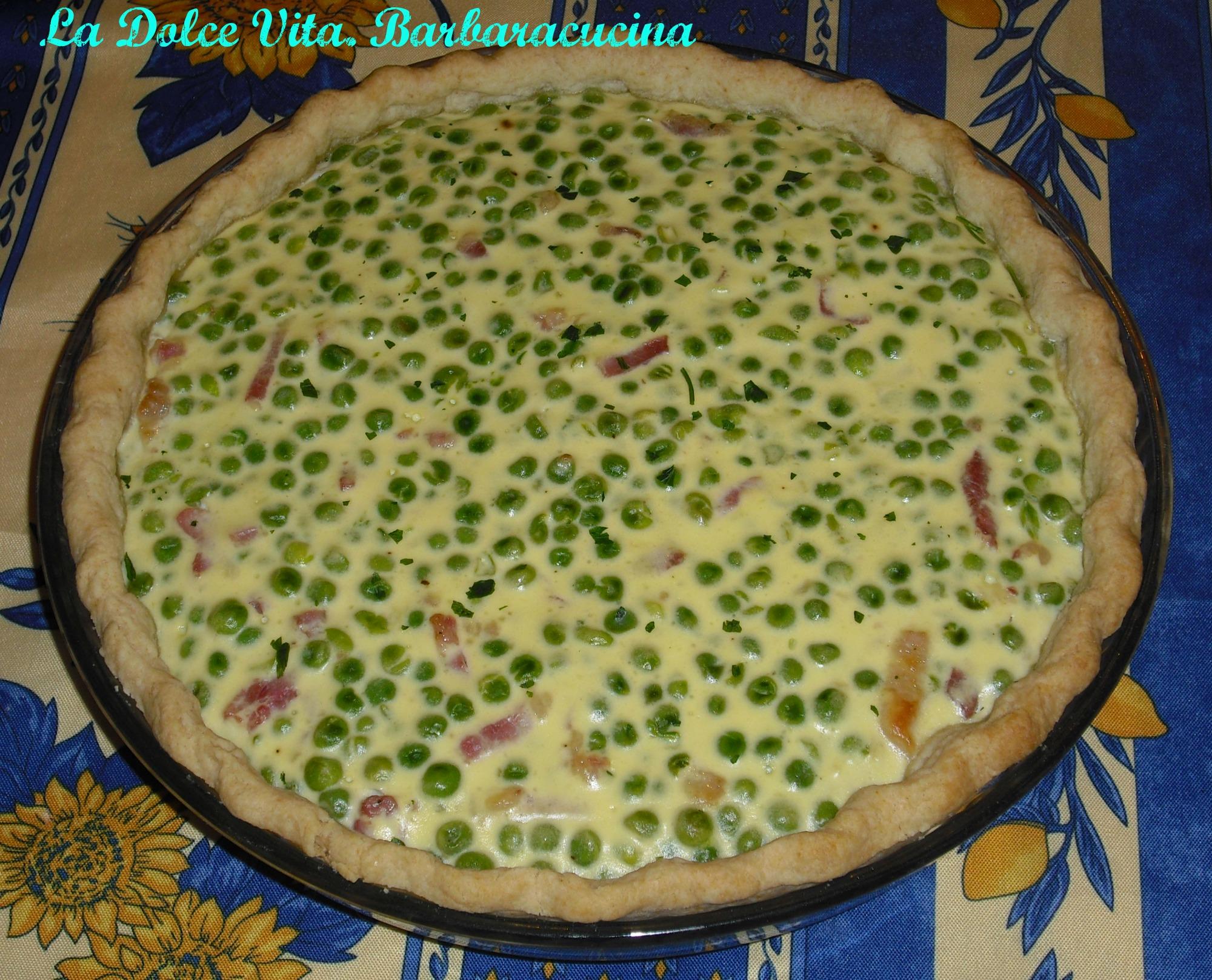 torta salata ai piselli 2
