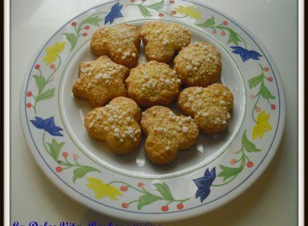 Biscotti con granella di zucchero!