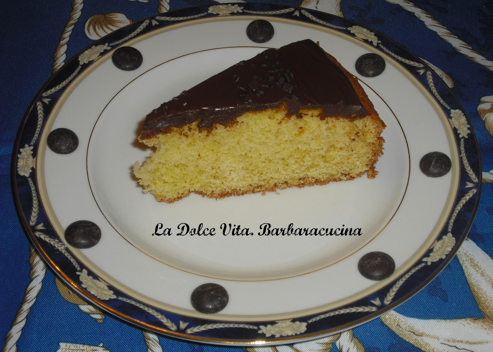 torta arancia-cioccolato 2