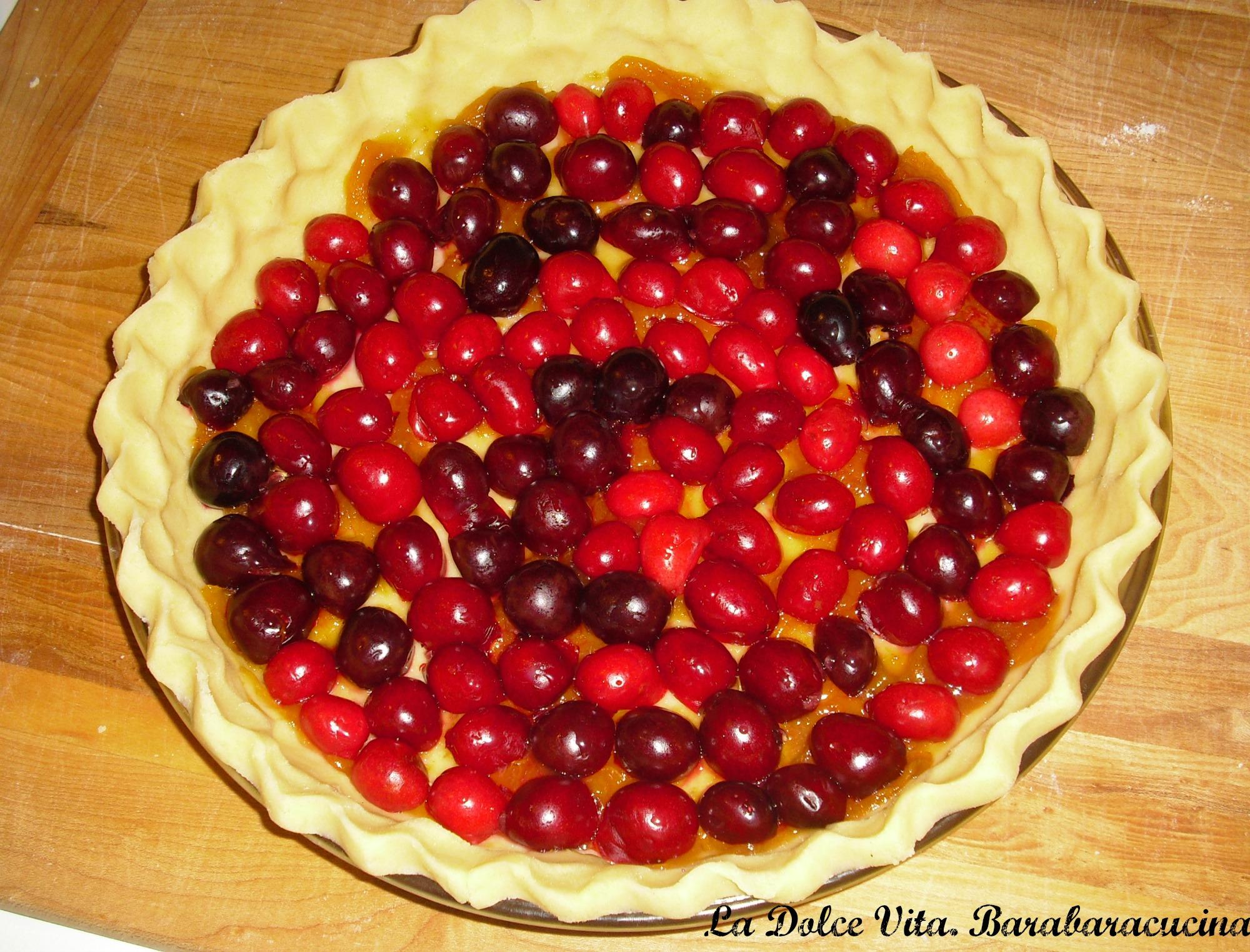 crostata alle ciliegie 1