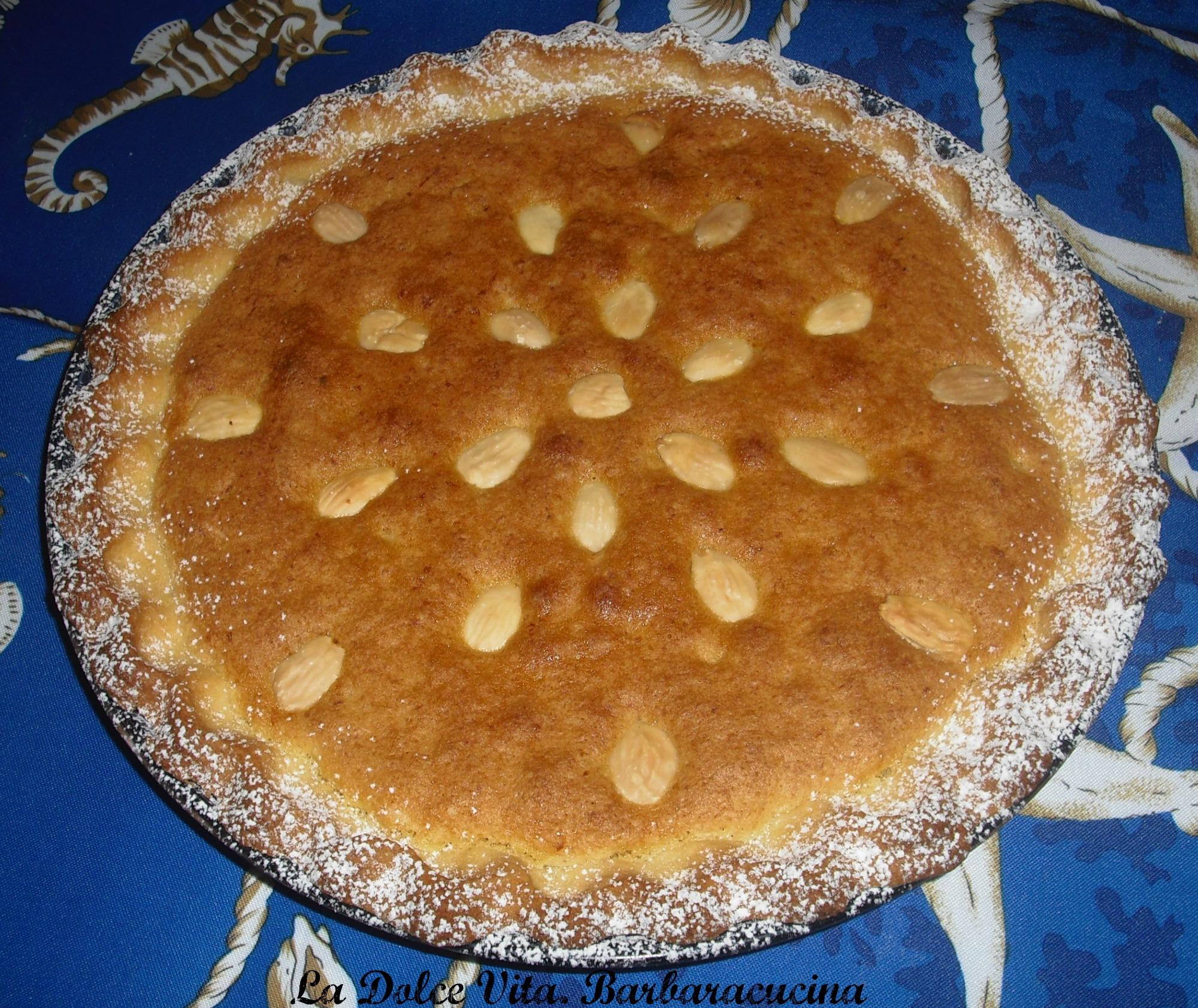 crostata con mandorle 2
