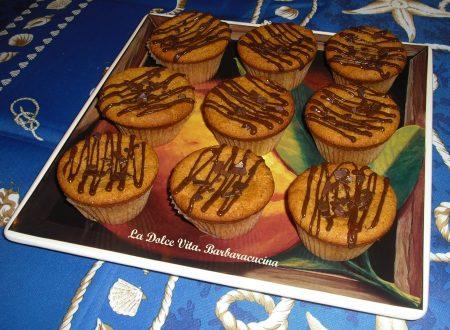 Muffin al burro di arachidi!