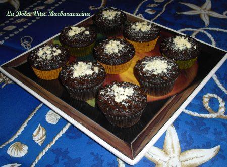 Muffins al cioccolato leggeri (e vegani)!