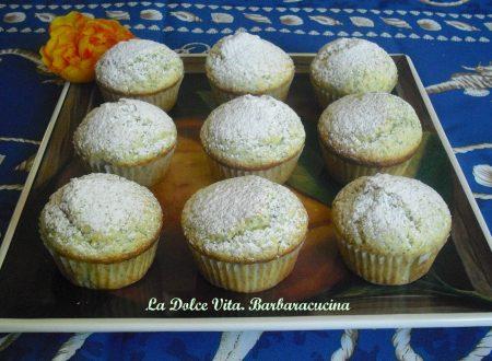 Muffins limone e semi di papavero