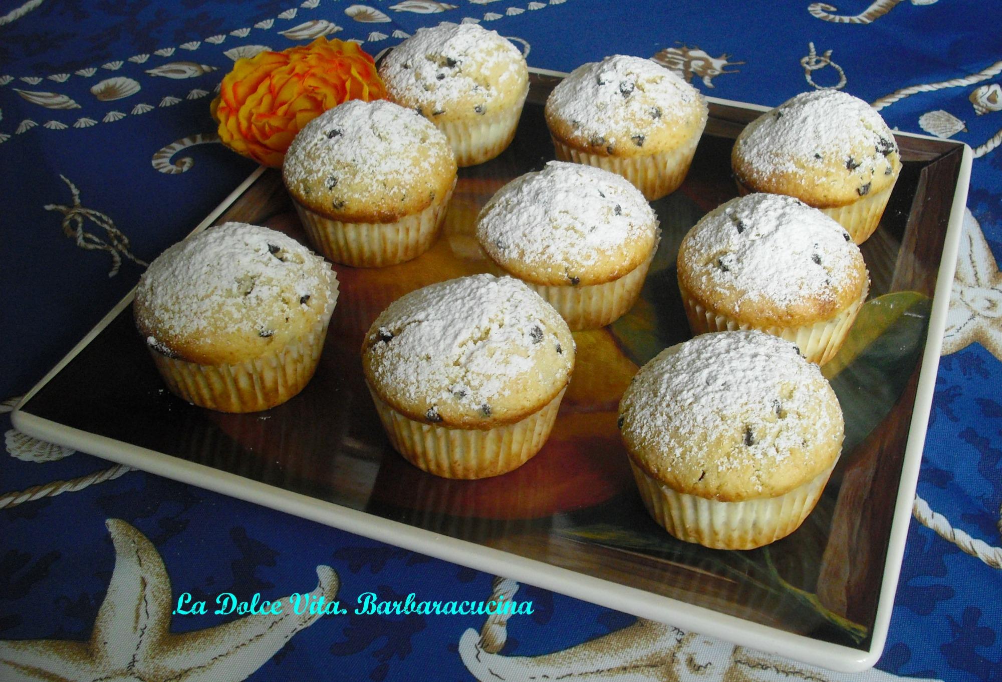 muffins ripieni di crema 4