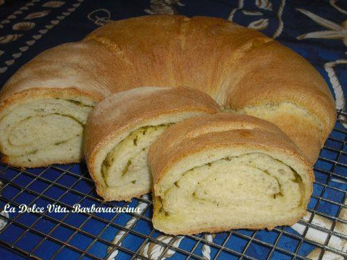 Pane al pesto di erbe, croccante!