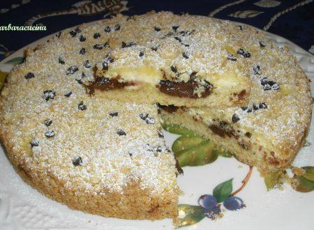 Torta sbriciolata ricotta e nutella!