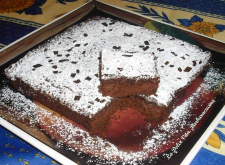 Brownies al cioccolato senza uova!!