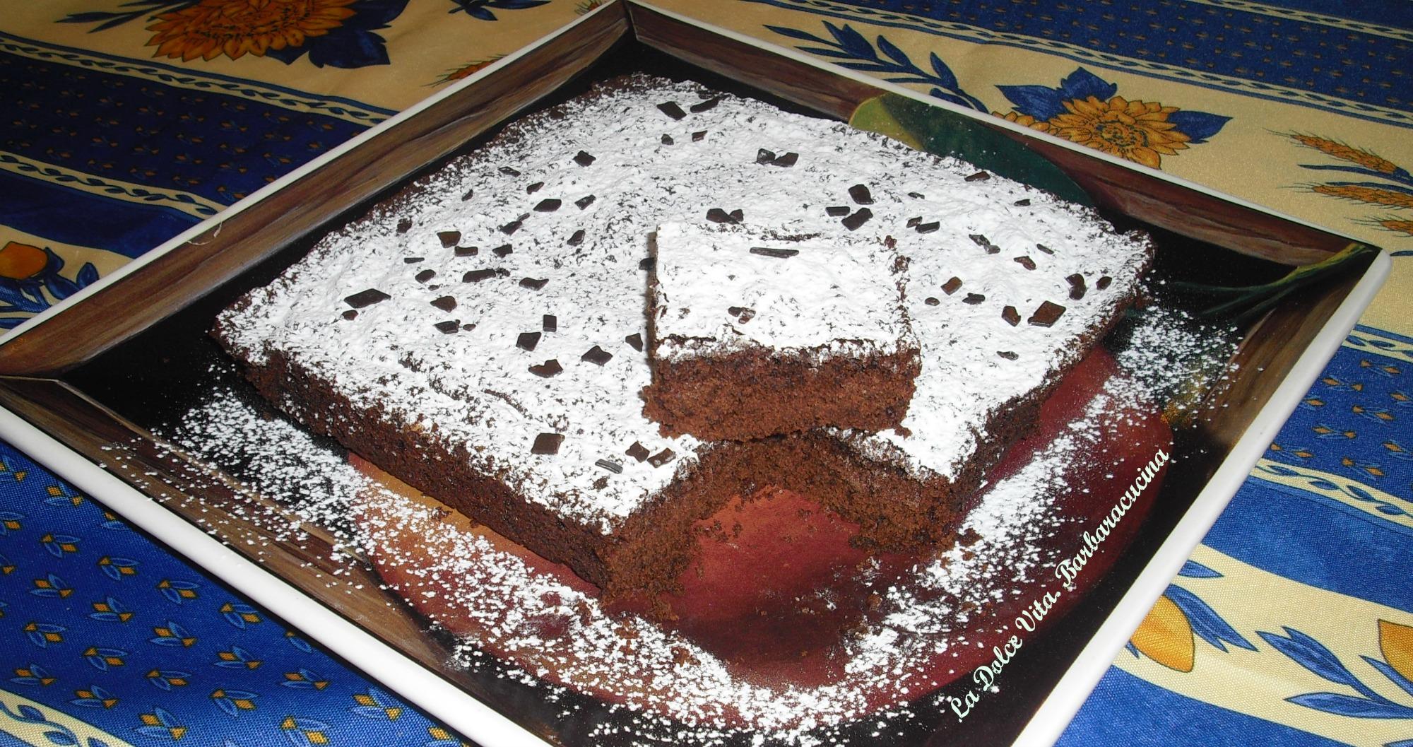 brownies al cioccolato 5