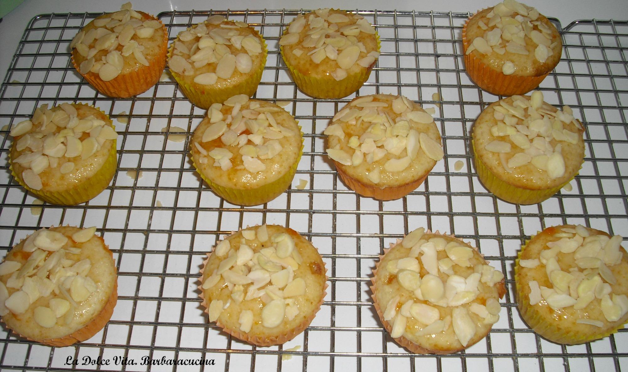 muffins alle mandorle 2