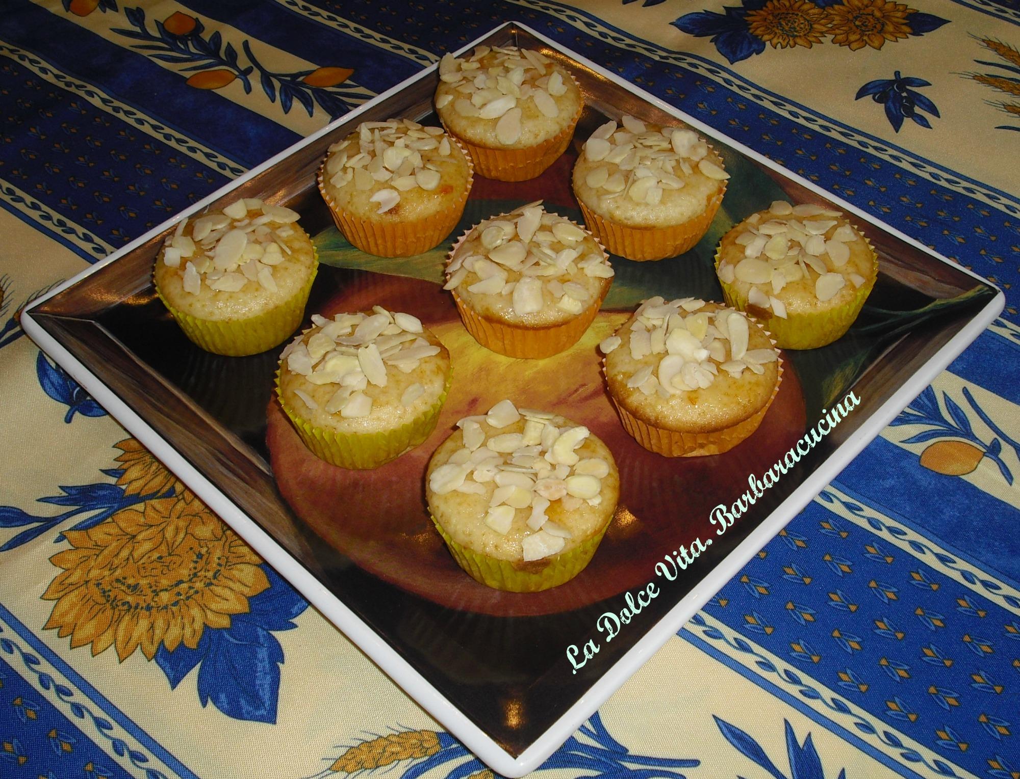 muffins alle mandorle 3