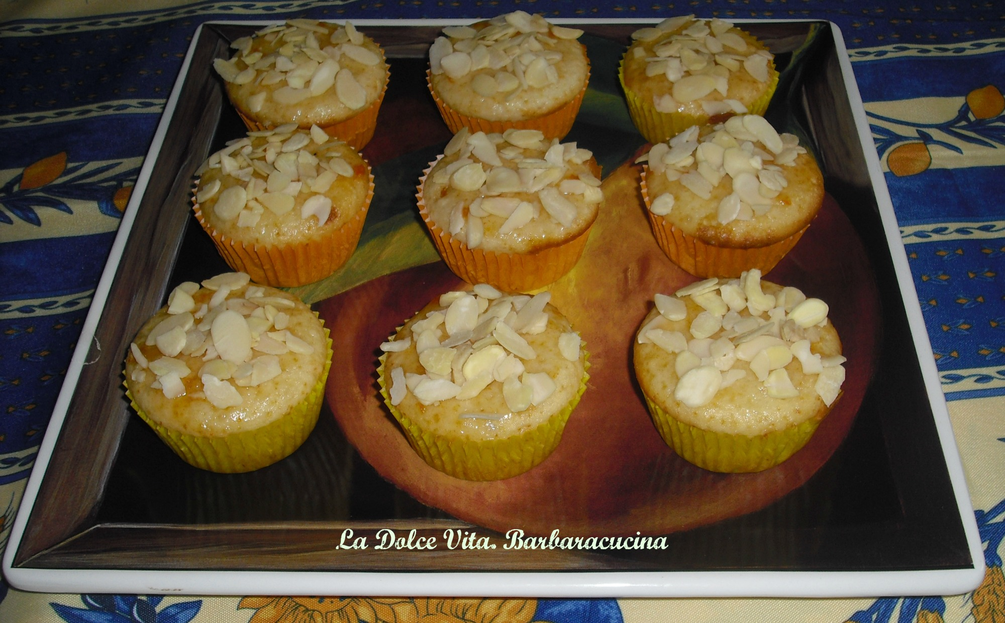 muffins alle mandorle 4