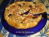 torta salata ai pomodori e mozzarella 1