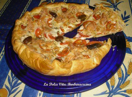 Torta salata ai pomodori e mozzarella!