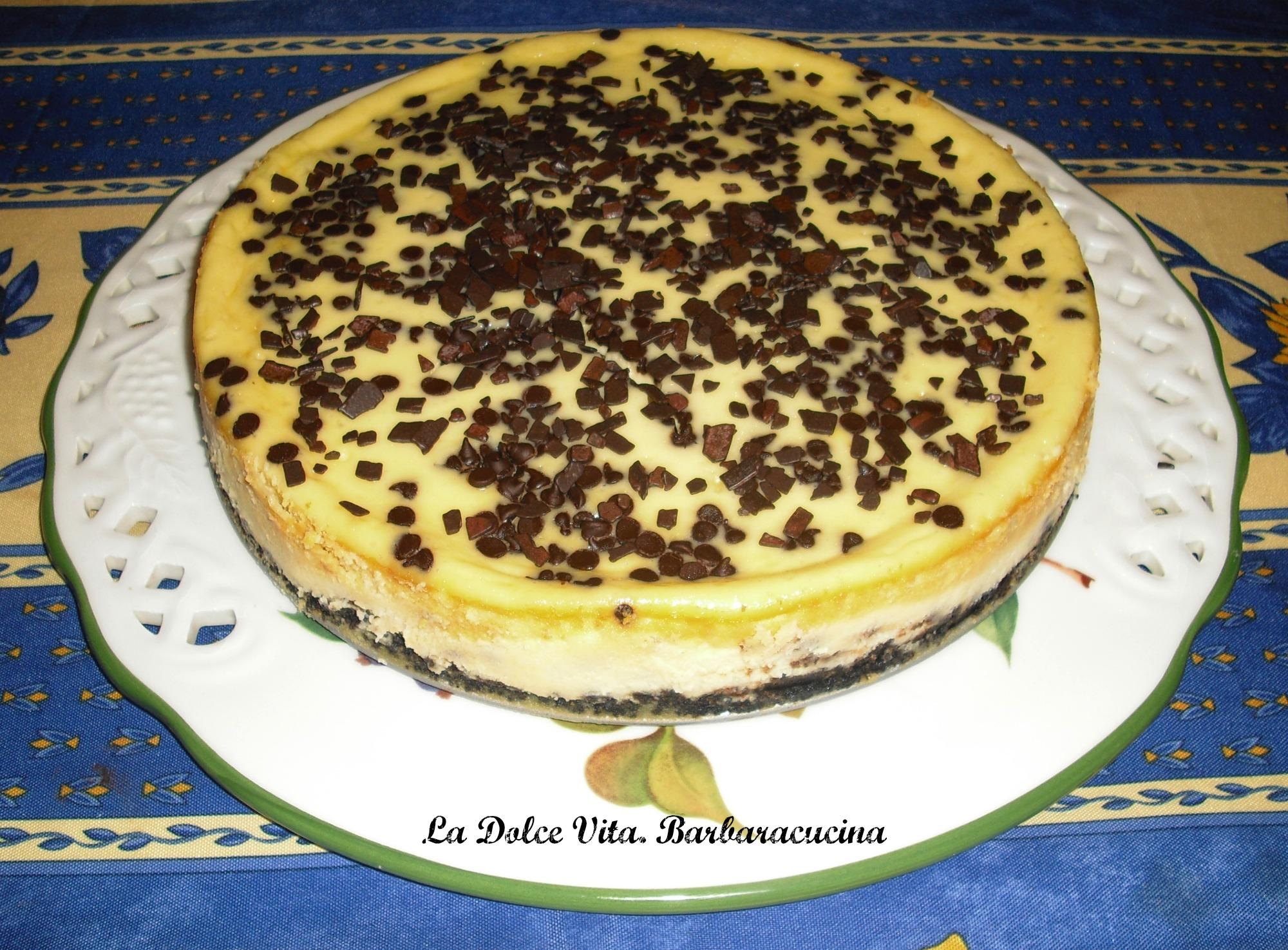 cheesecake con le gocce 2