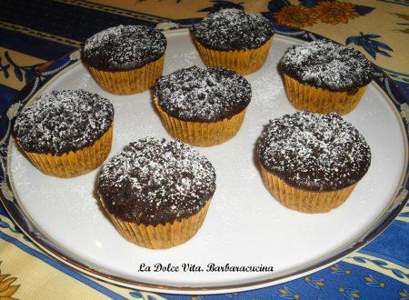 Muffins al cacao con le briciole!