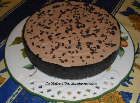 Torta senza cottura al cioccolato!!