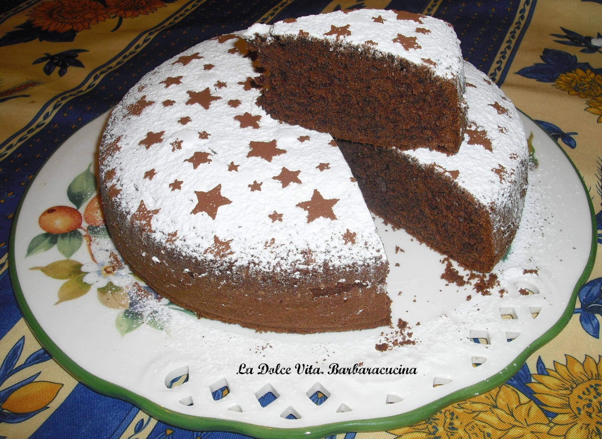torta soffice al cioccolato 1