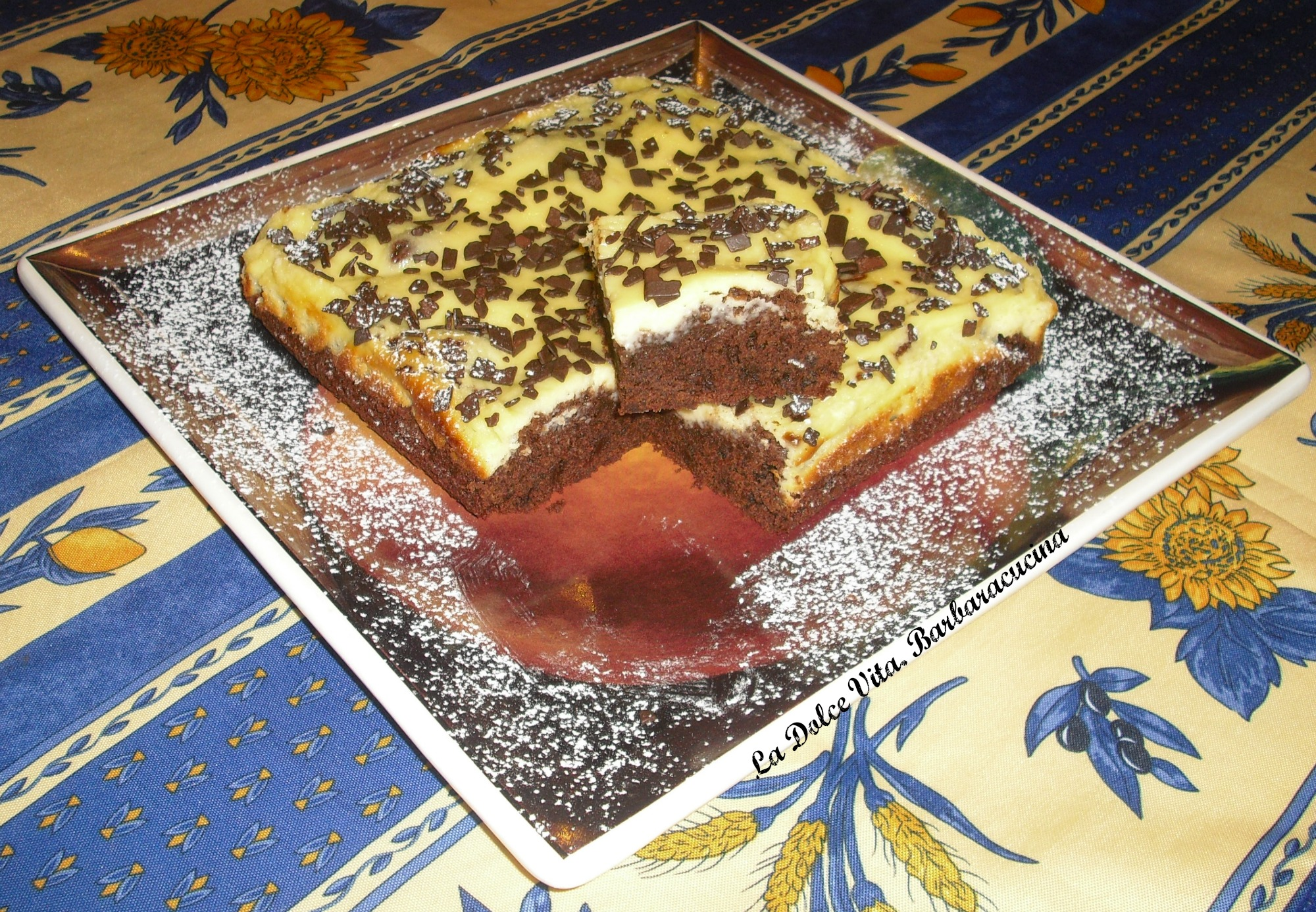 Brownies cheesecake deliziosi!