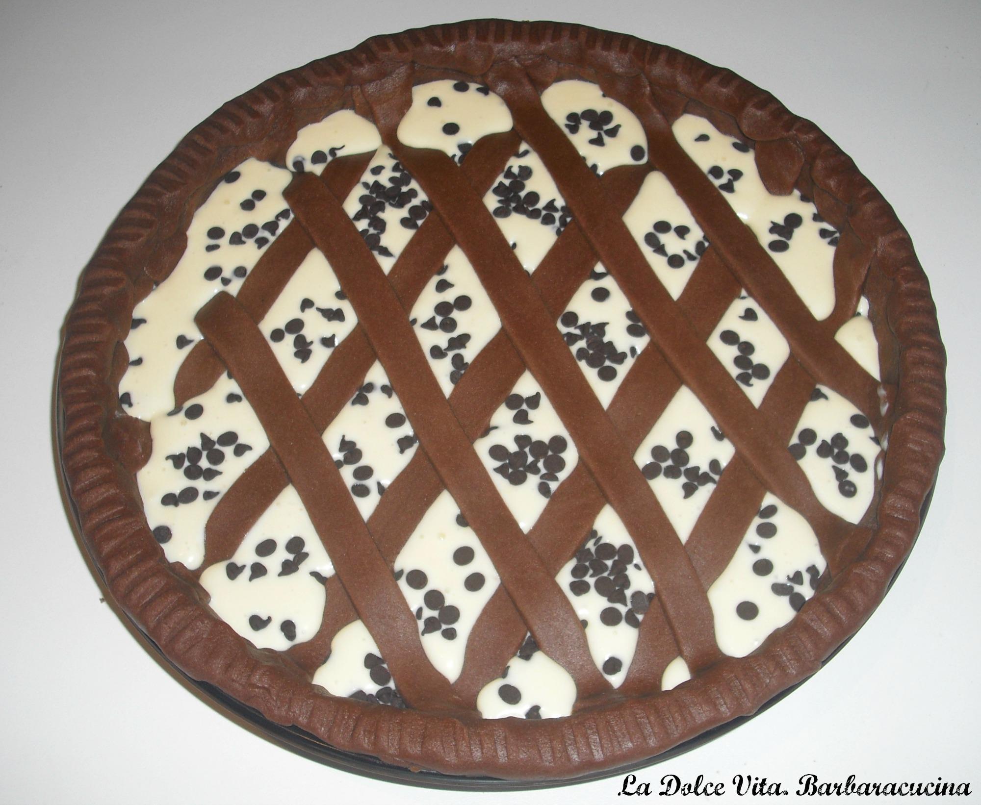 crostata ricotta e cioccolato 1