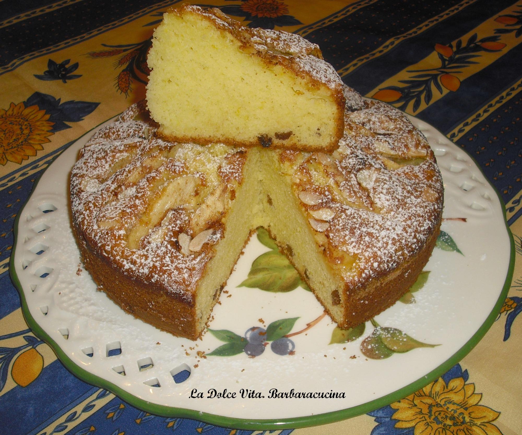 torta con mele e mandorle 1