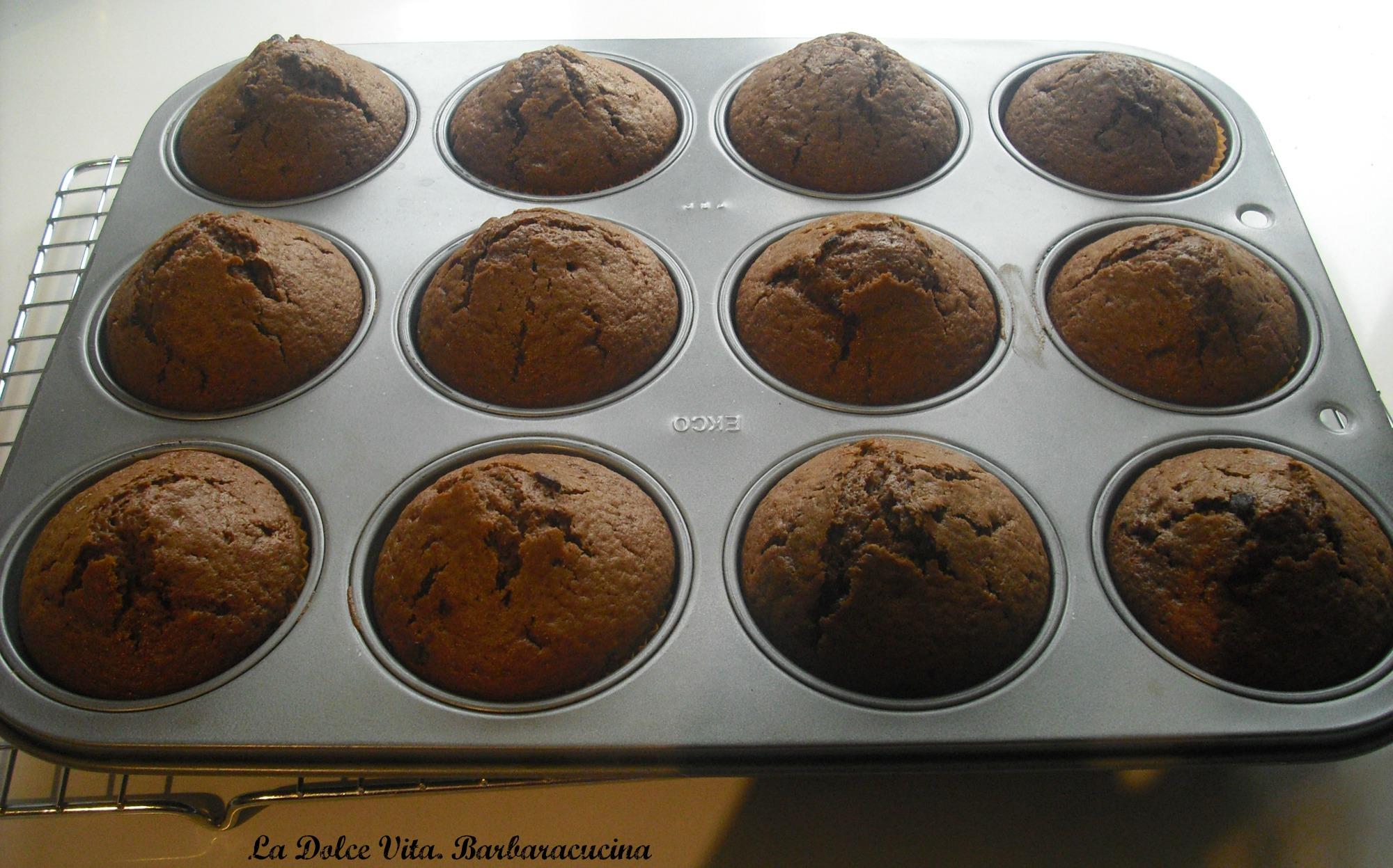 muffins caffè e cioccolato 2