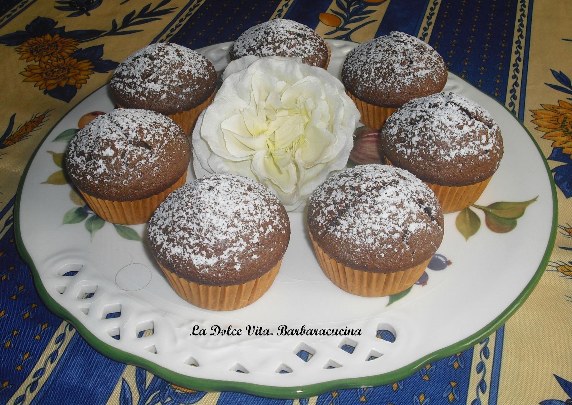 Muffin al caffè e cioccolato!!