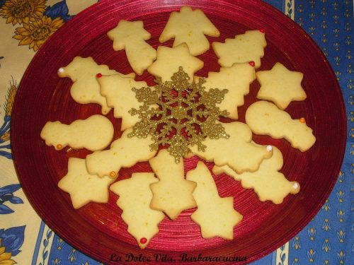 Biscotti di Natale all'arancia!