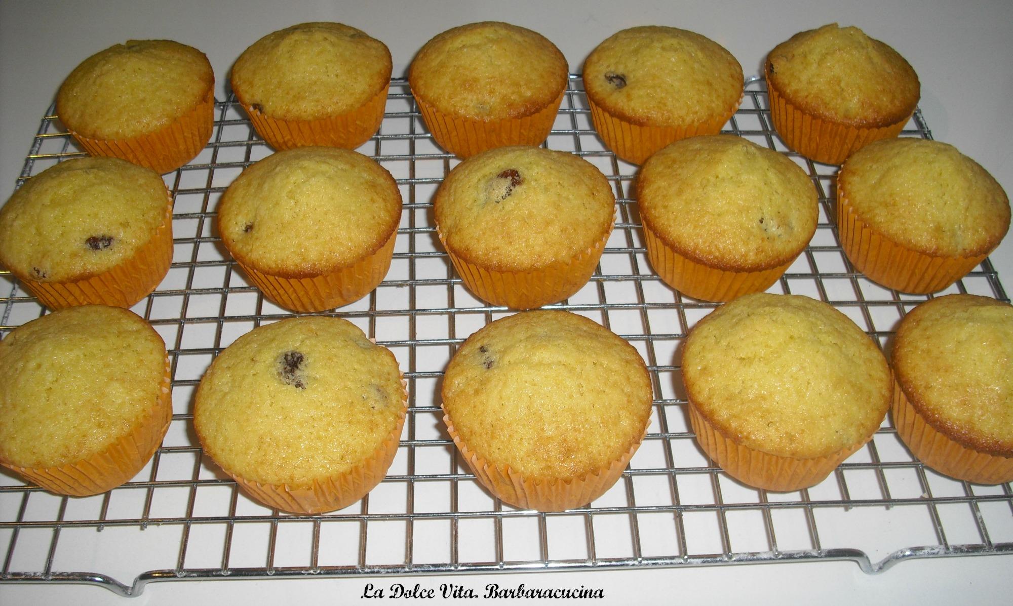 muffins all'uvetta 2