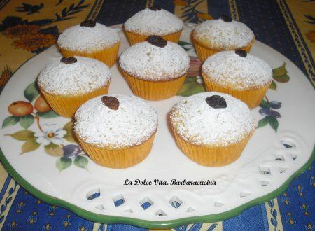 Muffins con uvetta, sofficissimi!!