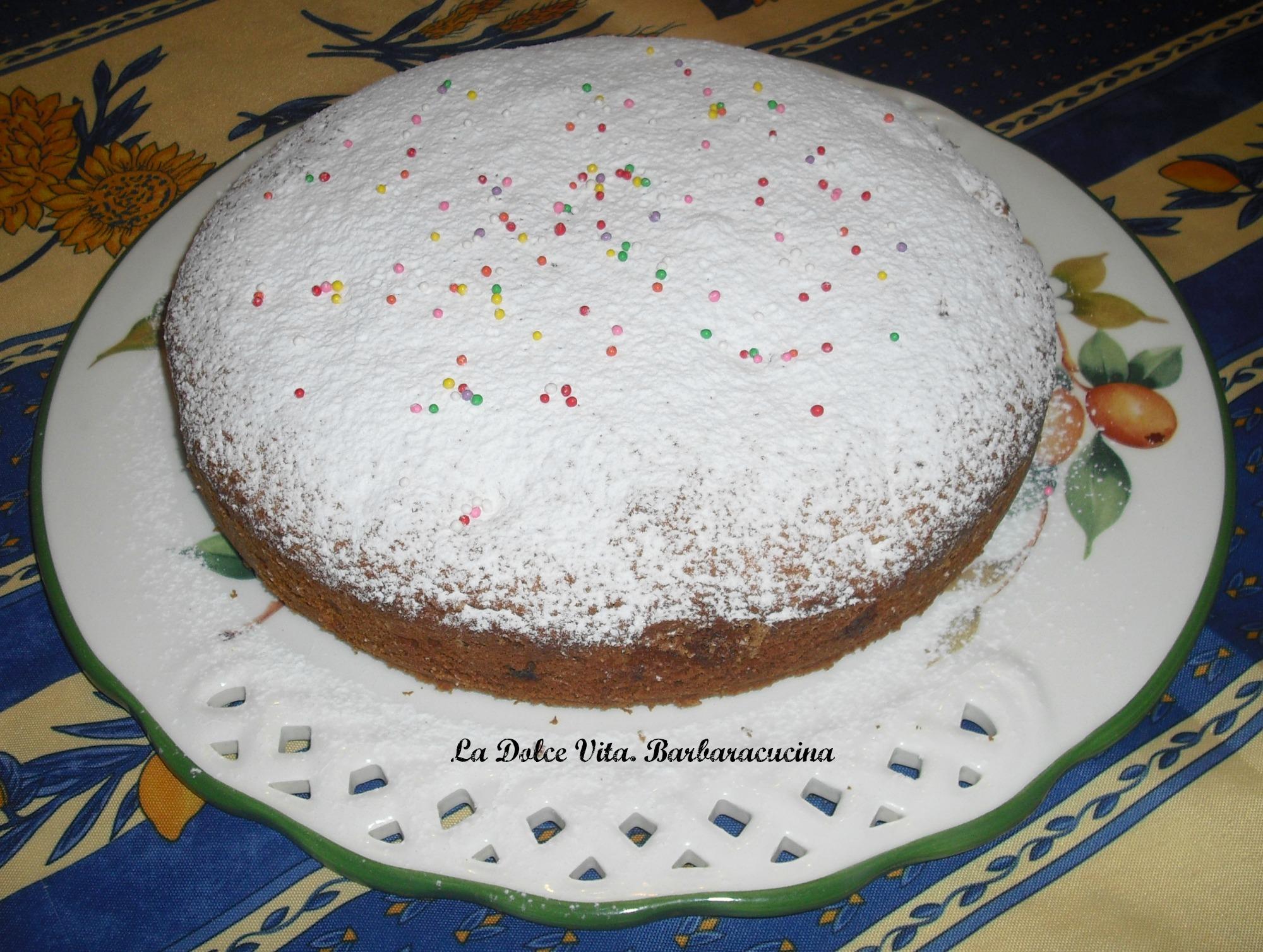 torta mele e uvetta 3