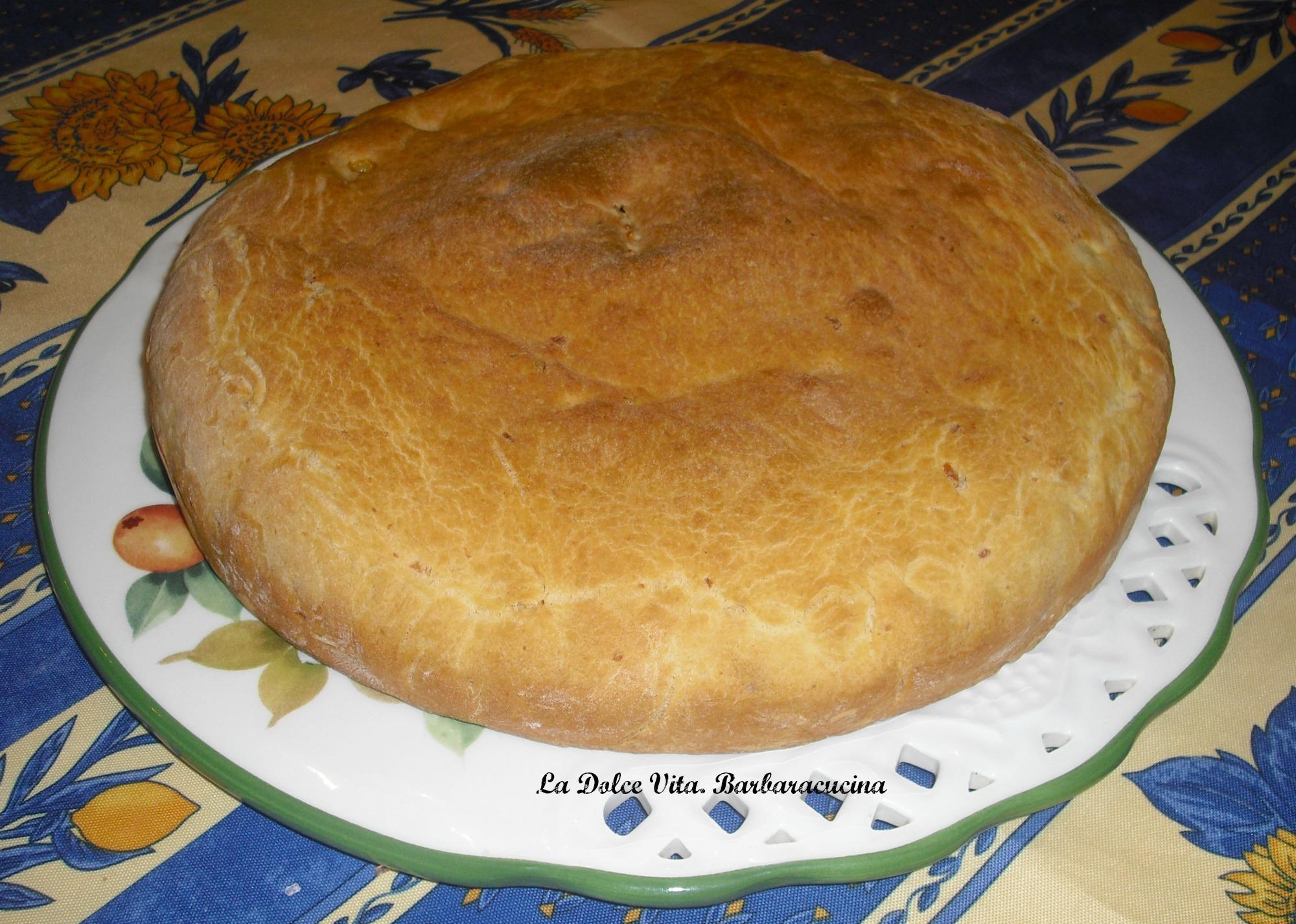 torta rustica con salsiccia 1