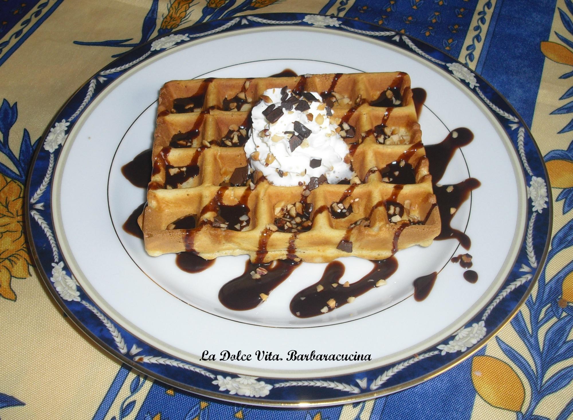 waffles alla nocciola 2