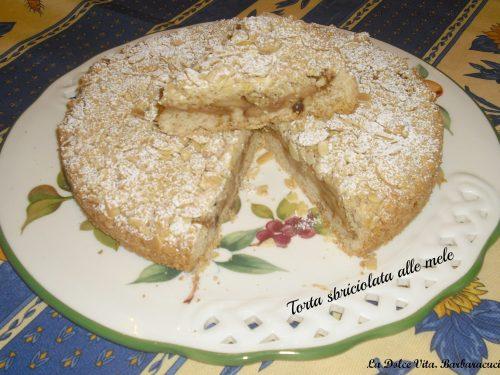 Torta sbriciolata mele e cannella!