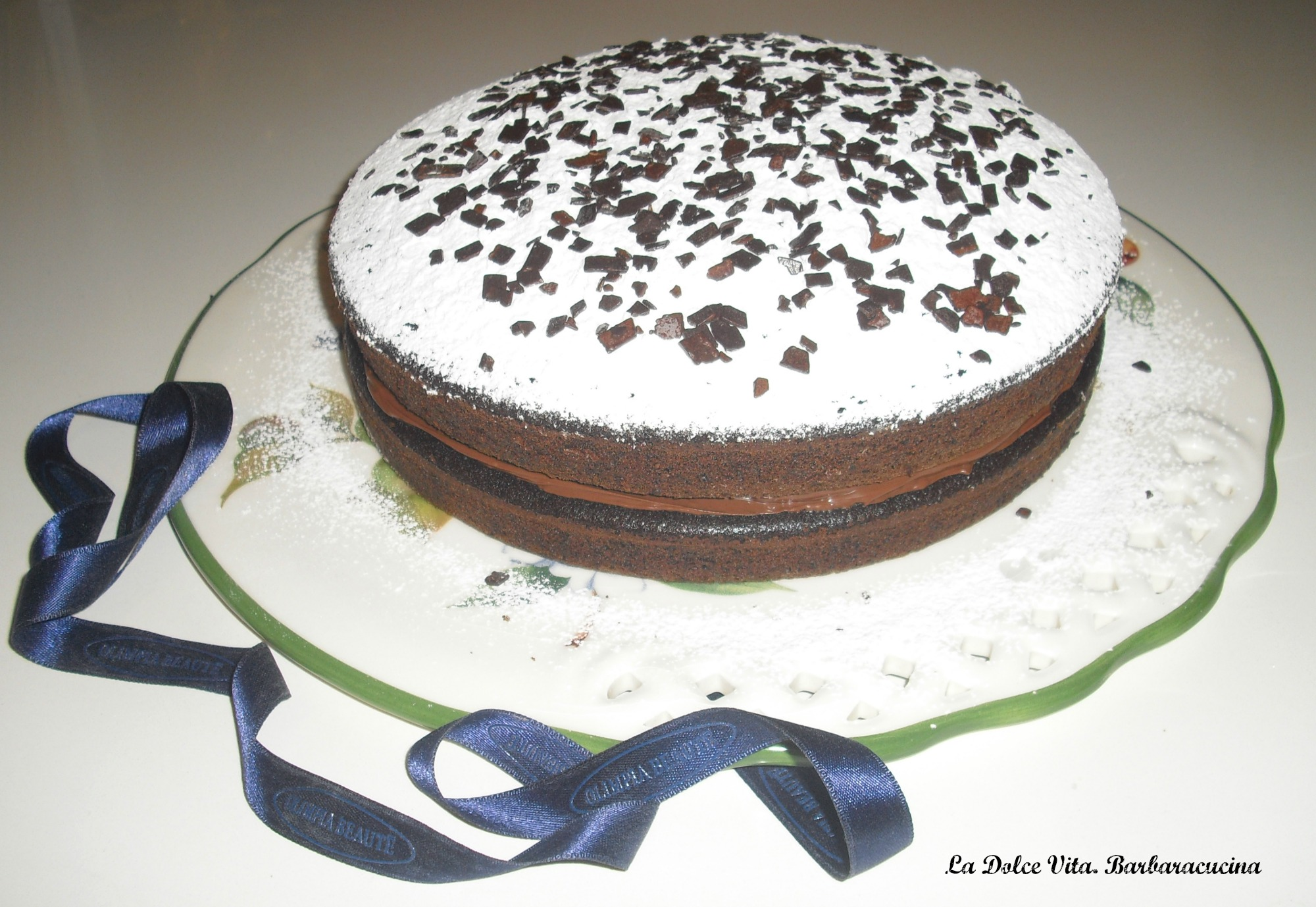 torta veloce al cioccolato 3