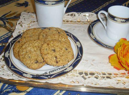 Biscotti grancereale al cioccolato!