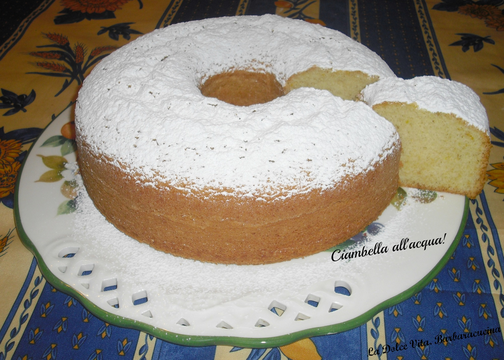 ciambella all'acqua 2