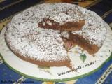 torta con nutella e ricotta