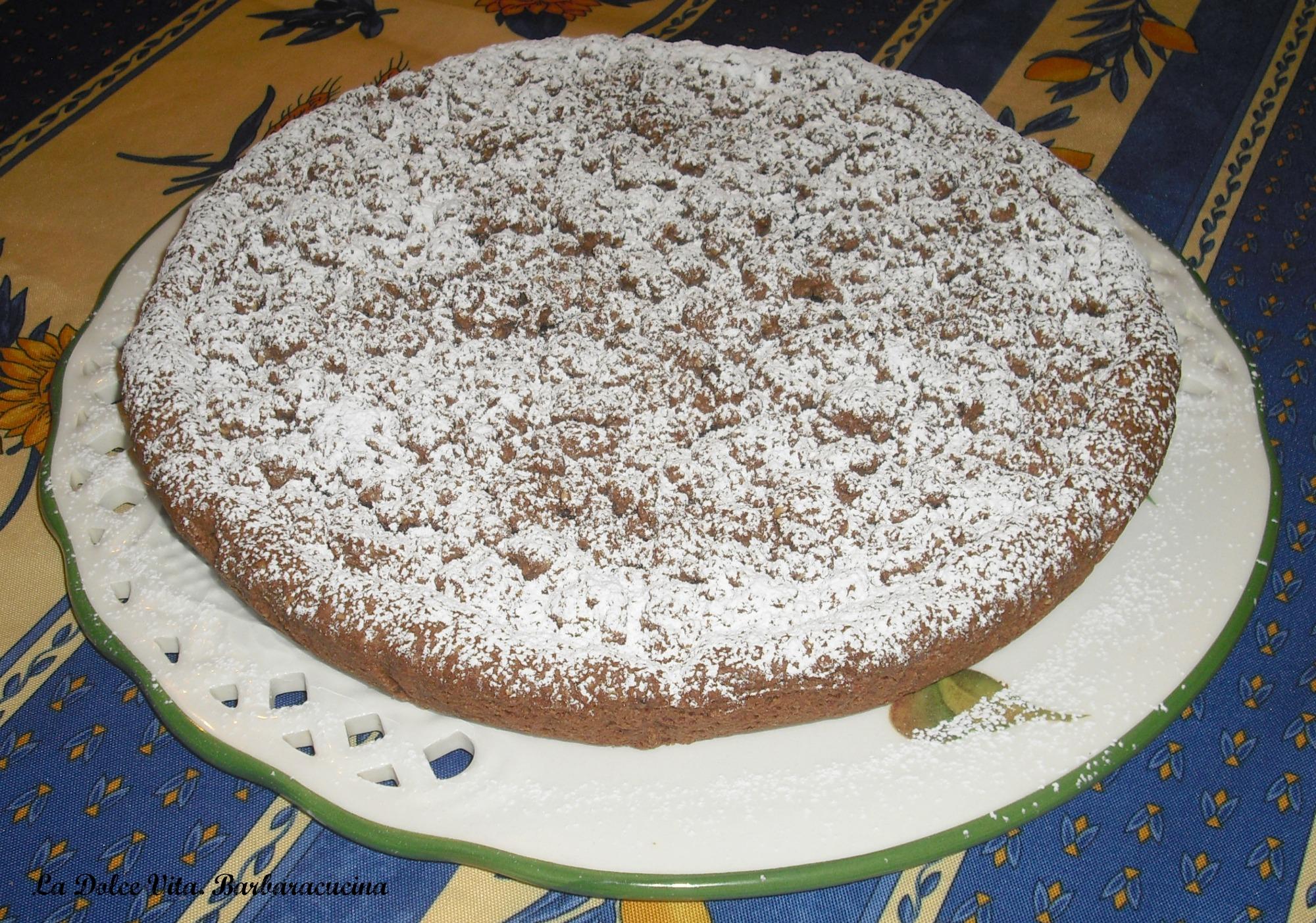 torta crumble alla nutella 2