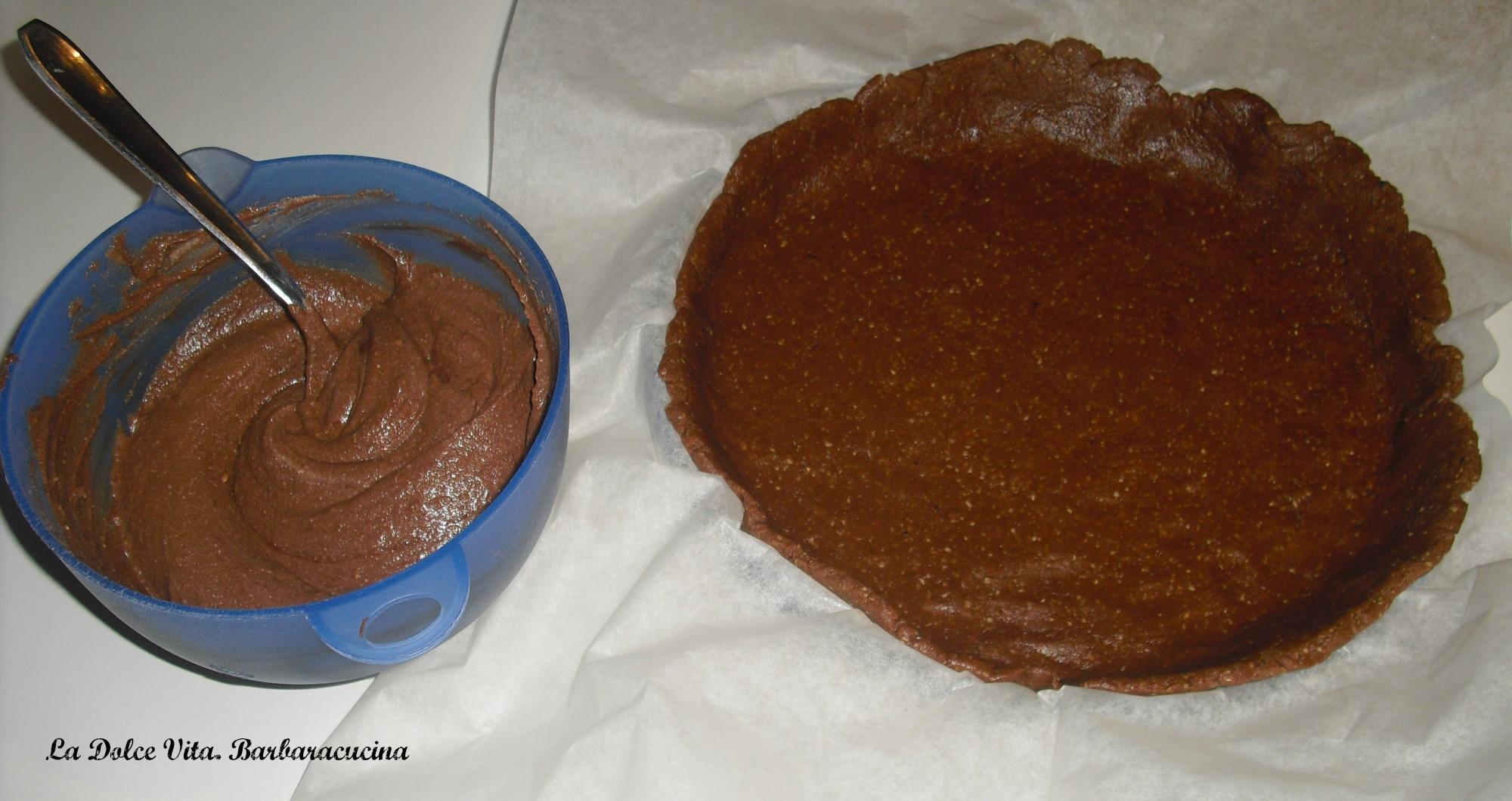 torta crumble alla nutella
