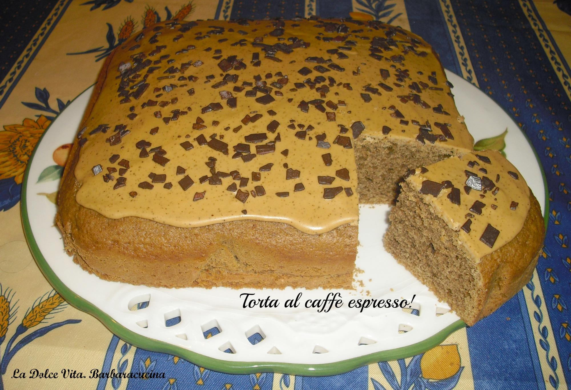 Torta Al Caffè Benedetta Parodi