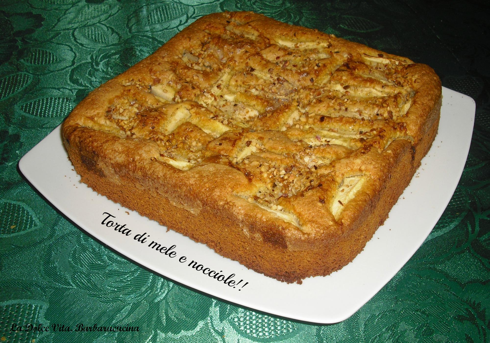 torta di mele e nocciole 2