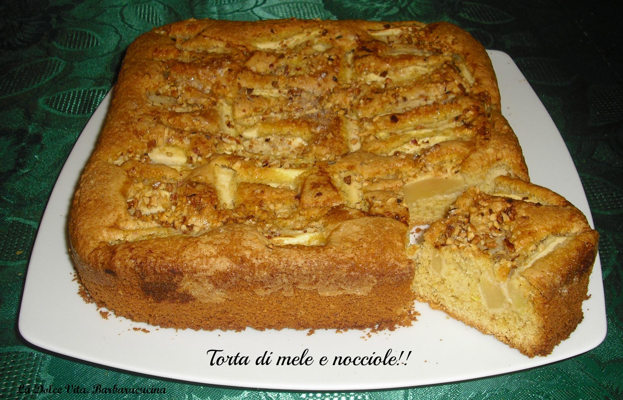 torta di mele e nocciole 3