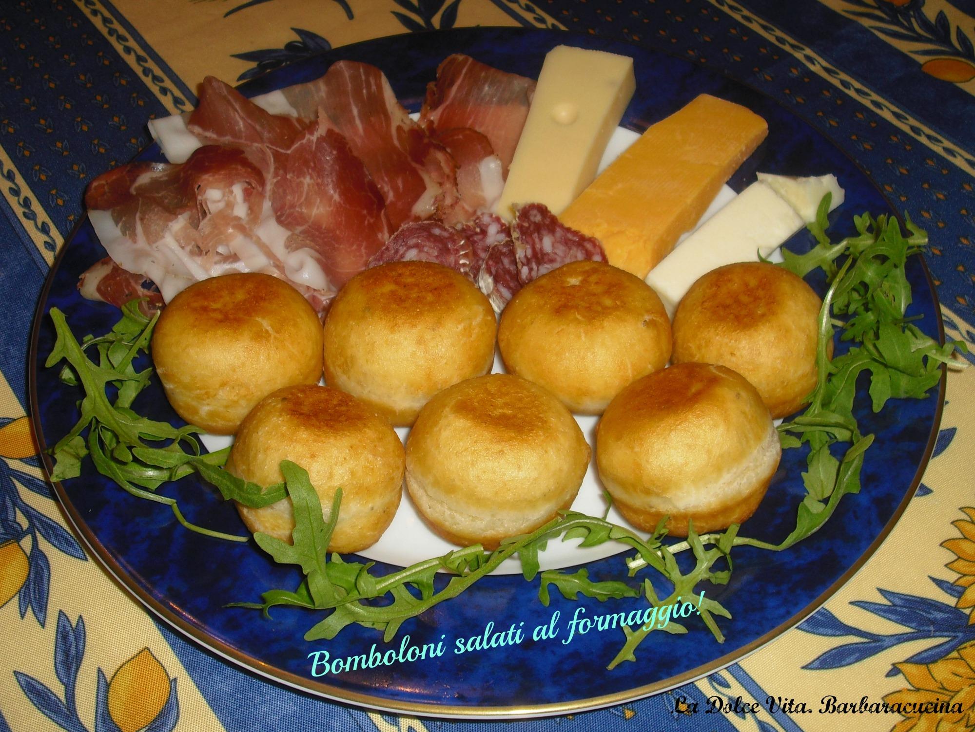 Bomboloni salati al formaggio!!