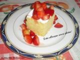torta all'acqua senza glutine